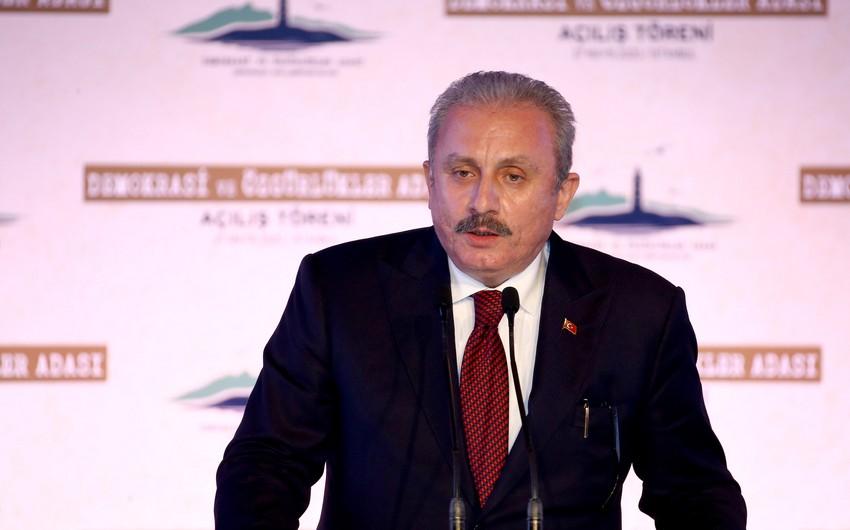Mustafa Şentop: Minsk qrupunun beyin ölümü gerçəkləşib