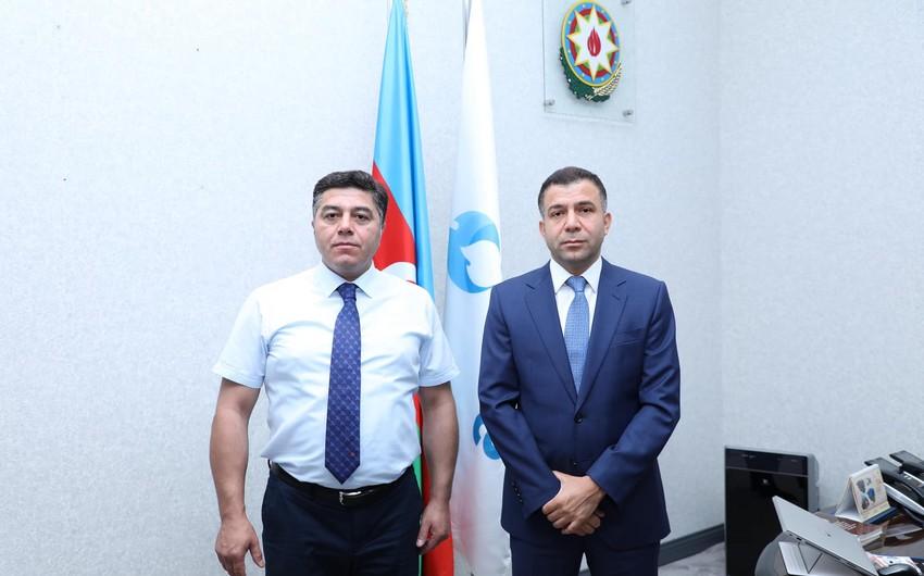 """""""Azəriqaz""""ın yeni mətbuat katibi ictimaiyyətə təqdim olunub"""
