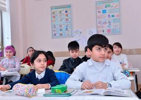 Schools reopening in Azerbaijan