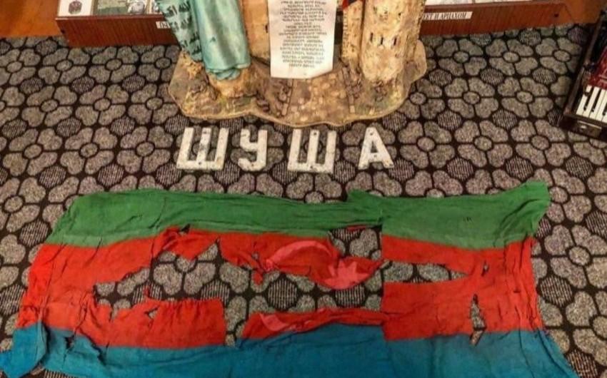 Ombudsman appeals to international organizations over humiliating Azerbaijani flag in Khankendi