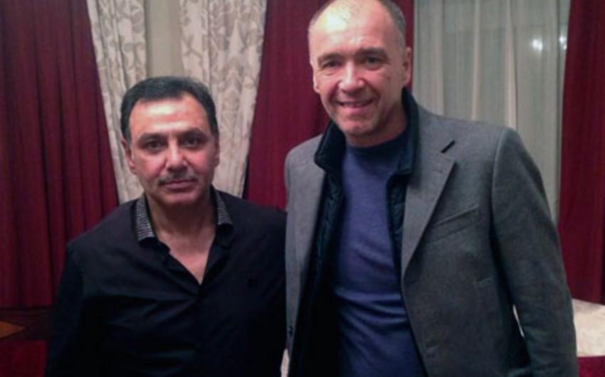 Hafiz Məmmədov Atletiko Madridin prezidenti ilə görüşüb