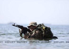 Стартует второй этап тактических учений ВМС Азербайджана