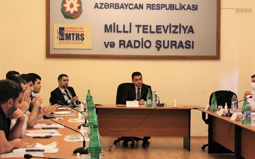 MTRŞ-da bir sıra kabel yayımçılarının rəhbərləri ilə görüş keçirilib