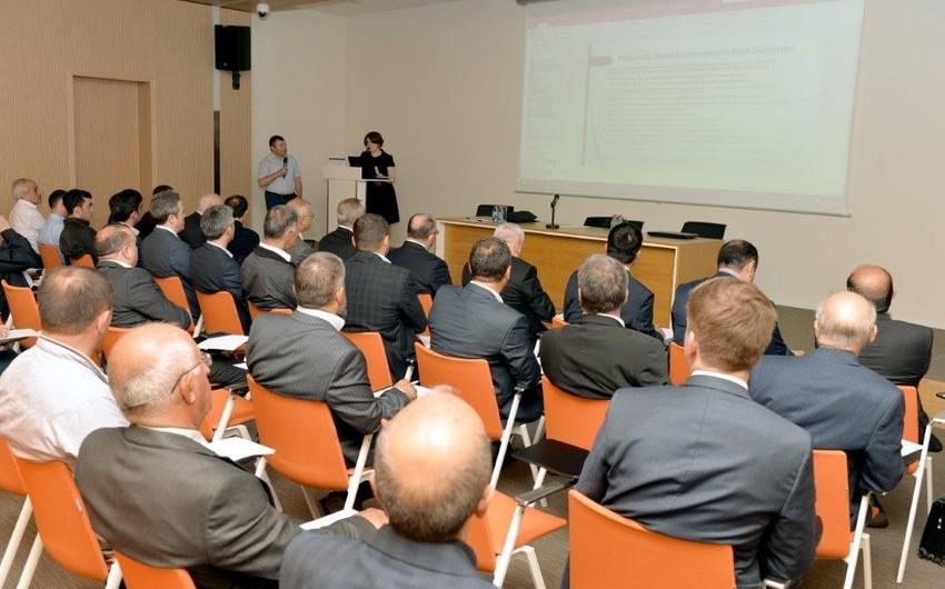 "SOCAR-da ""Metan emissiyalarının azaldılmaları"" mövzusunda seminar keçirilib"