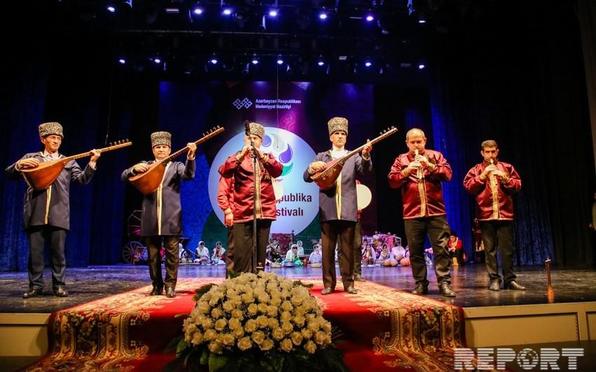 Folklor Festivalının qalibi müəyyənləşib