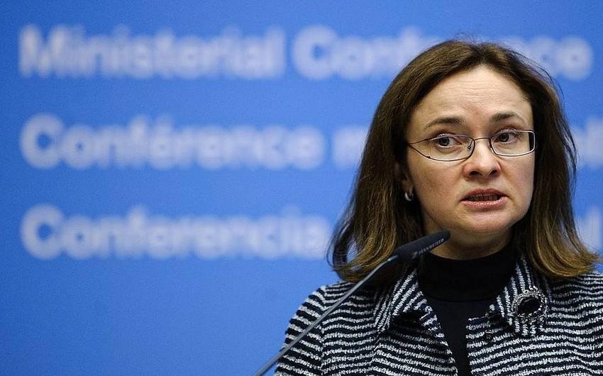 Rusiya Bankının sədri neftin qiymətinə dair proqnoz verib
