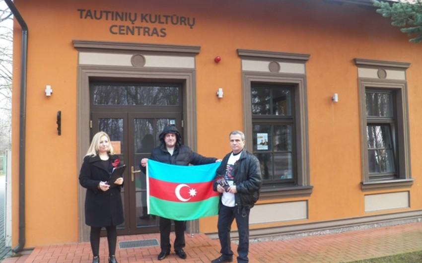 Litvada Xocalı soyqırımı qurbanlarının xatirəsi yad olunub