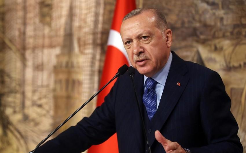 """Ərdoğan: """"Türkiyə qanunsuz miqrasiya ilə mübarizədə tək qoyulub"""""""