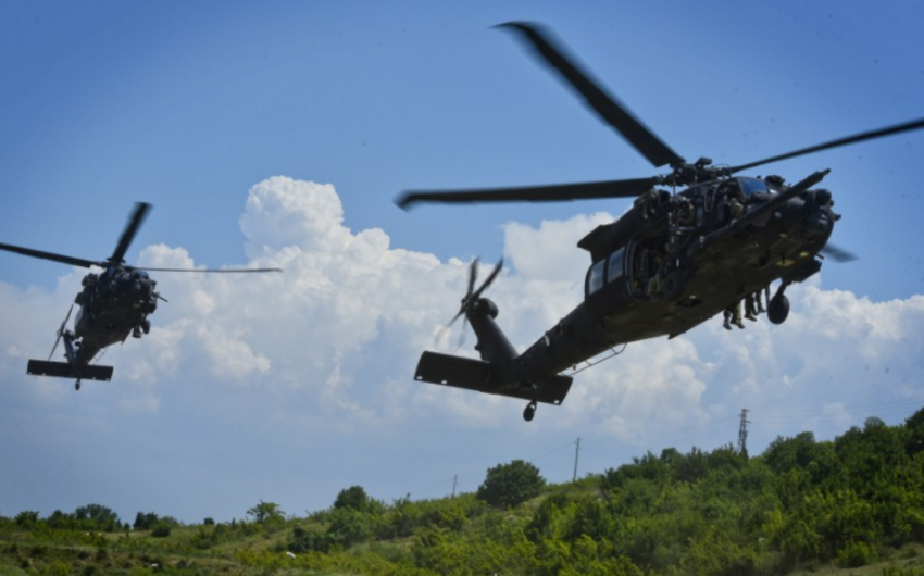 ABŞ-da hərbi helikopter qəzaya uğradı, ölən və yaralananlar var
