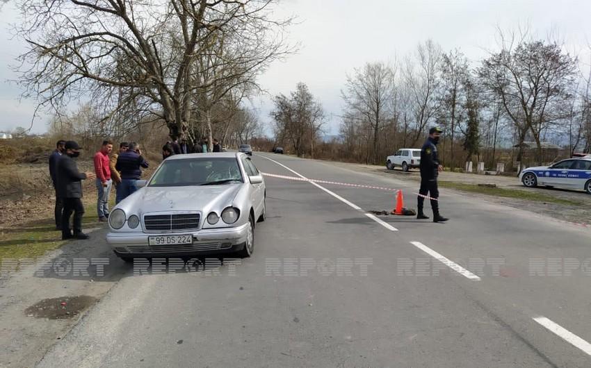 Oğuzda 56 yaşlı kişini avtomobil vuraraq öldürüb