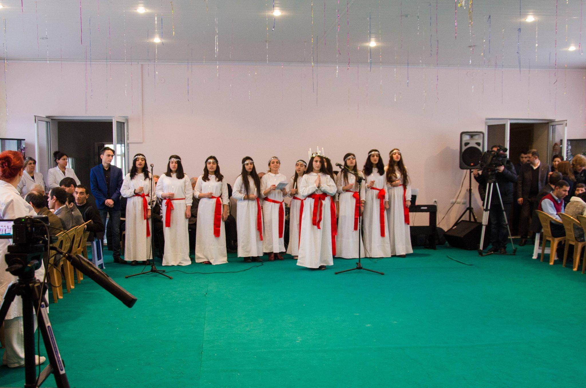 Swedish Embassy in Baku organized concert for disabled persons