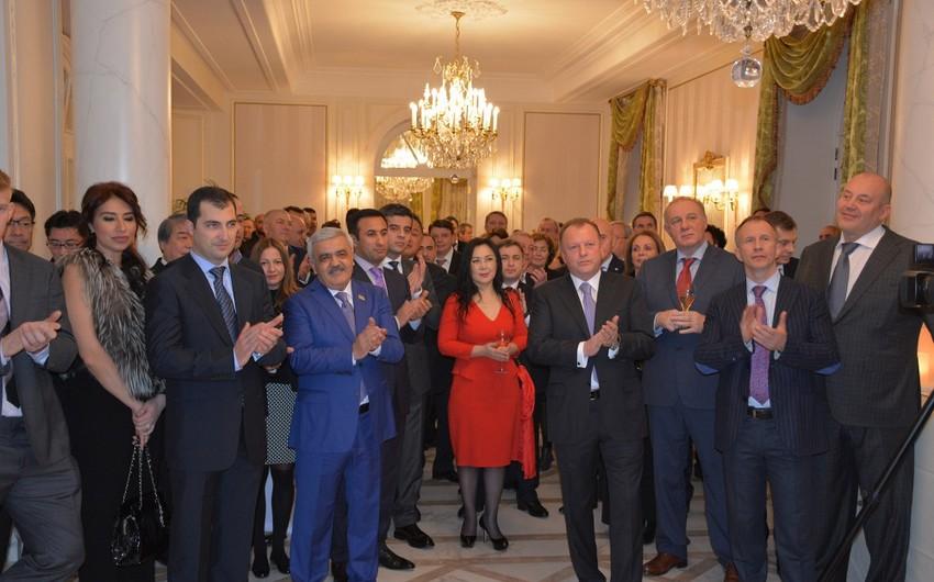 İJF və SOCAR Parisdəki Azərbaycan Mədəniyyət Mərkəzində xüsusi qəbul keçirib