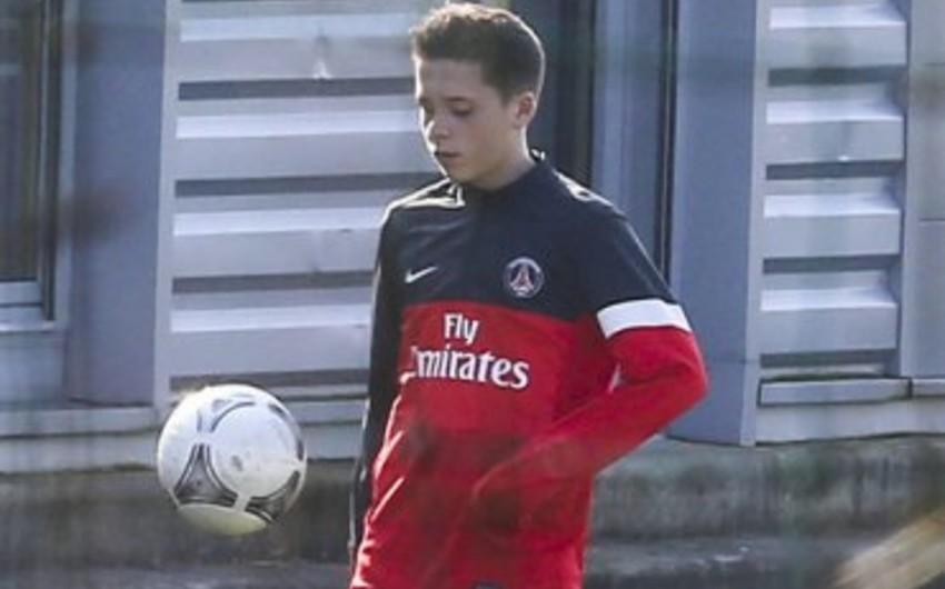 Devid Bekhemin oğlu Arsenal futbol klubu ilə müqavilə bağlayıb