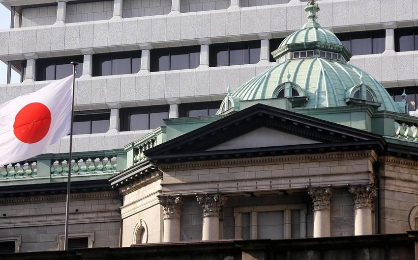 Yaponiya Bankı faiz dərəcəsini sabit saxlayıb