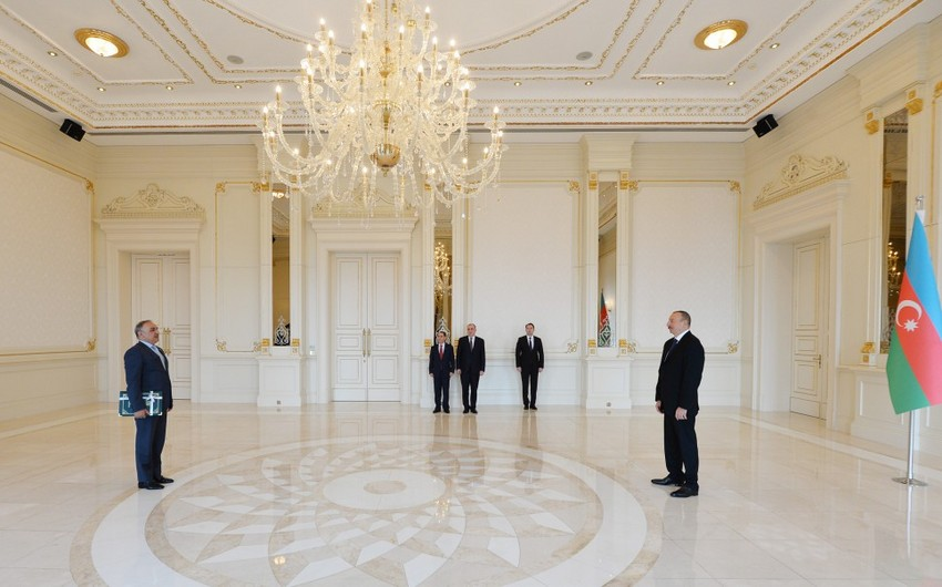 President Ilham Aliyev received credentials of incoming Ambassador of Pakistan