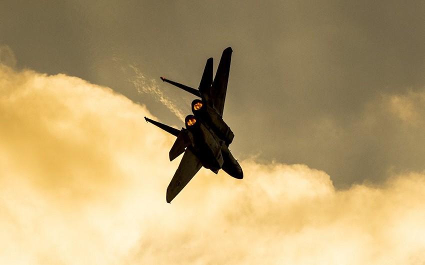 İsrailin Hərbi Hava Qüvvələri Suriya ordusunun obyektlərinə zərbələr endirib