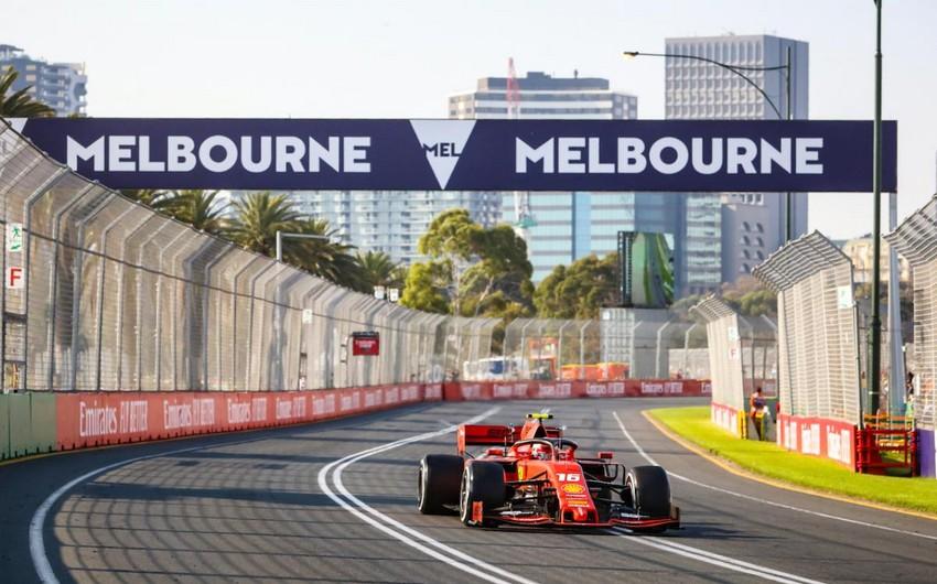 Formula 1: Avstraliya Qran-prisi yenə ləğv edildi