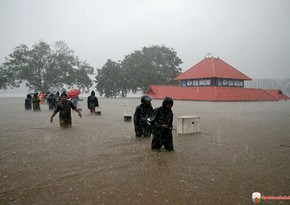 Over 350 villages in India flooded due to severe monsoons