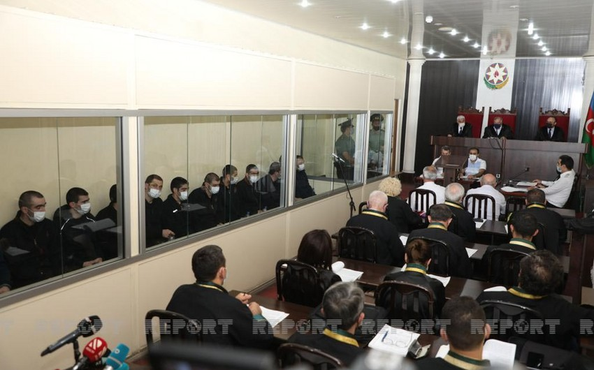 Начался суд над армянскими террористами, совершившими диверсии в Азербайджане - ОБНОВЛЕНО