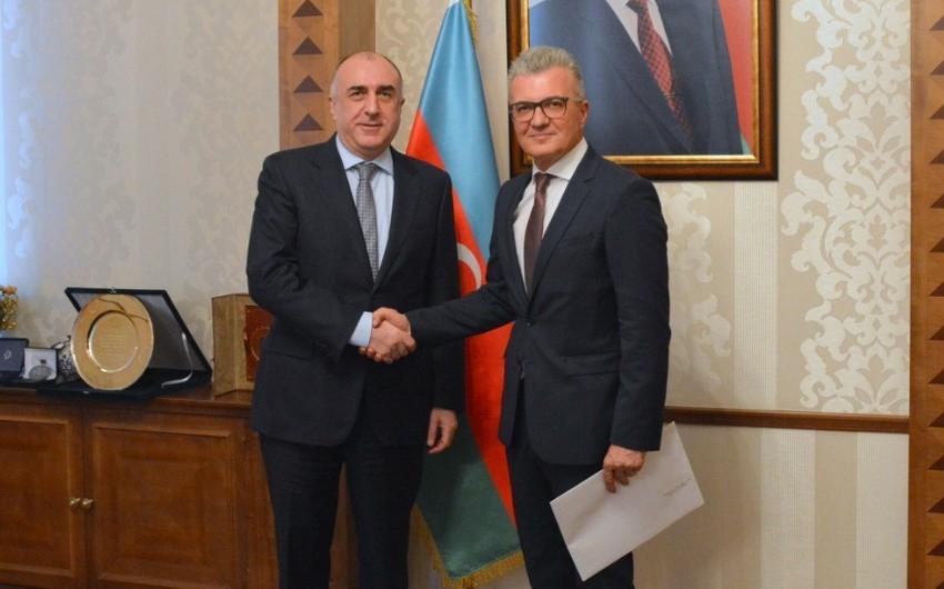 Глава МИД Азербайджана принял нового посла Хорватии