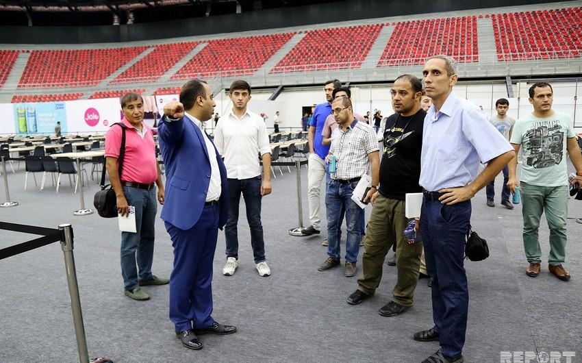 Bakı Şahmat Olimpiadası ilə bağlı Kristal Zala media tur təşkil olunub