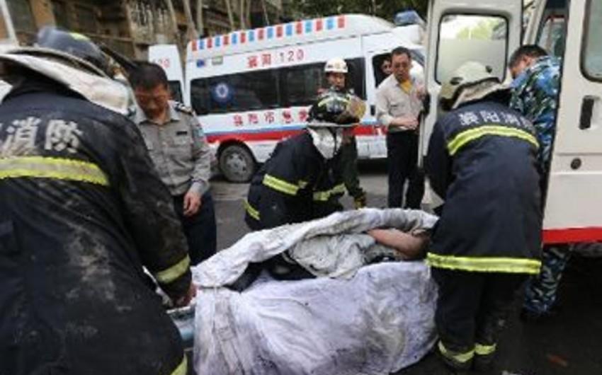 Çində sərnişin avtobusu aşıb: - 9 ölü, 11 yaralı