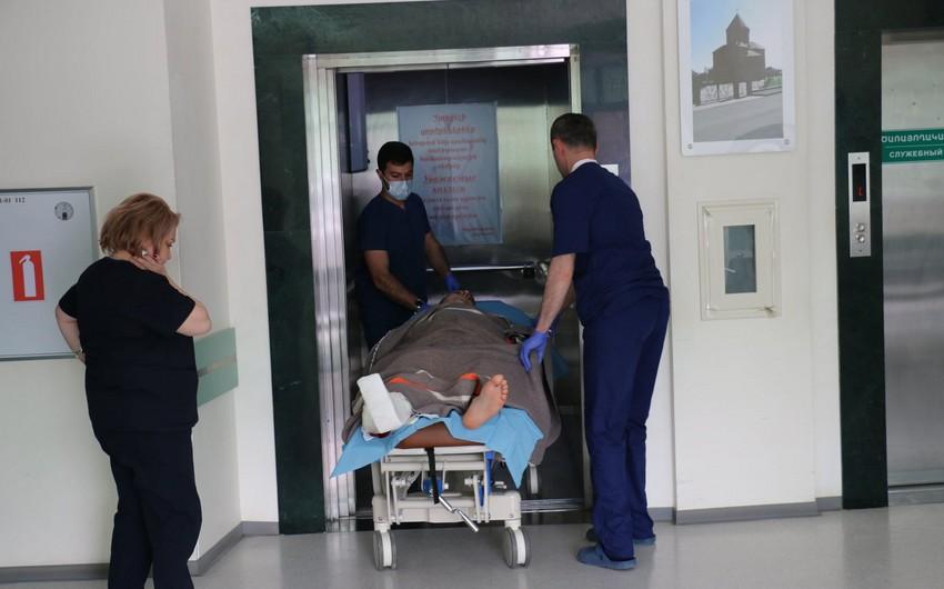 Заложенная армянами мина ранила своего же офицера