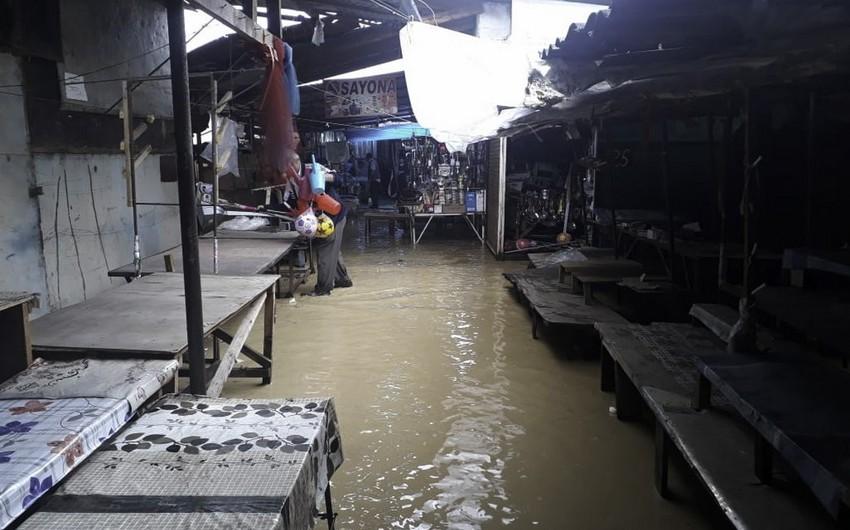 Gürcüstanda yağan güclü yağışlar azərbaycanlıların yaşadıqları ərazidə ciddi fəsadlar törədib - FOTO