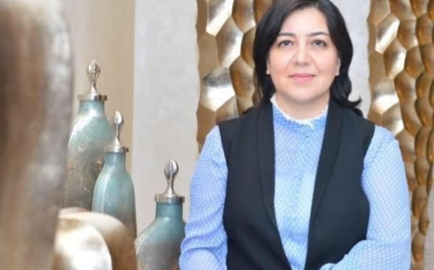 """Billurə Hacızadə """"Tərəqqi"""" medalı ilə təltif edilib"""