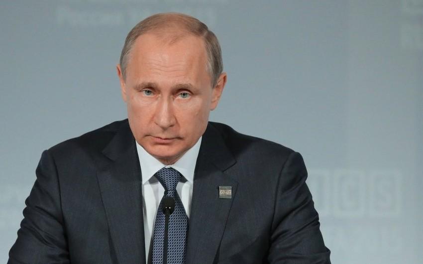 Путин: Россия и Азербайджан будут реализовывать перспективные проекты в Каспийском регионе