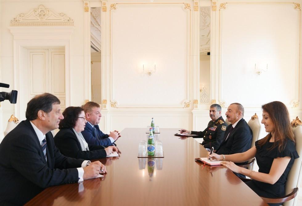 Президент Ильхам Алиев принял вице-премьера Болгарии