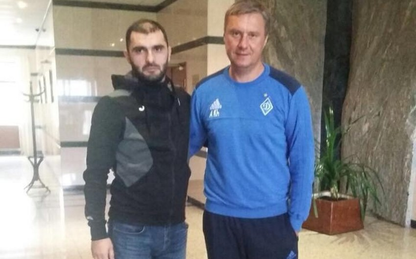 Тренер Зиря прошел стажировку в лагере киевского Динамо
