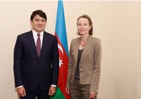 Chairman of Diaspora Committee met with Swiss ambassador to Azerbaijan