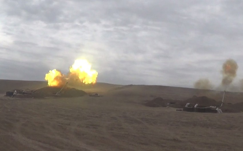 Artillery units inflict crushing blow on the enemy
