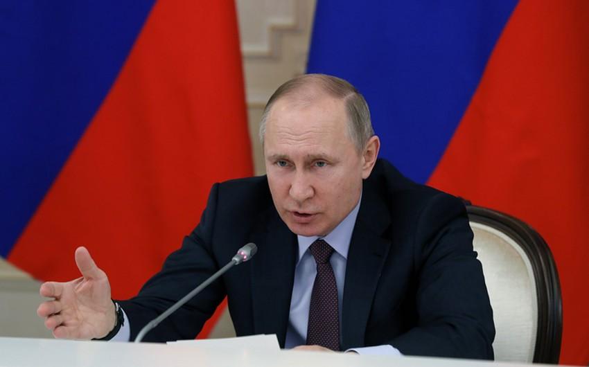 Putin: Krımın qaytarılması heç bir şəraitdə mümkün deyil