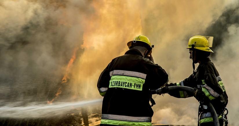 Fire breaks out at Azerikimya plant