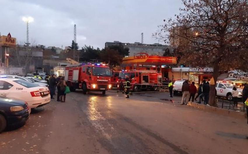 Tbilisidə YDM-də baş verən yanğın zamanı beş nəfər xəsarət alıb - YENİLƏNİB