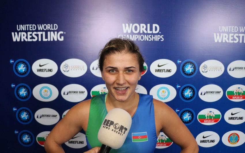 Elis Manolova: Sevinirəm ki, Azərbaycana bu medalı qazandıra bildim
