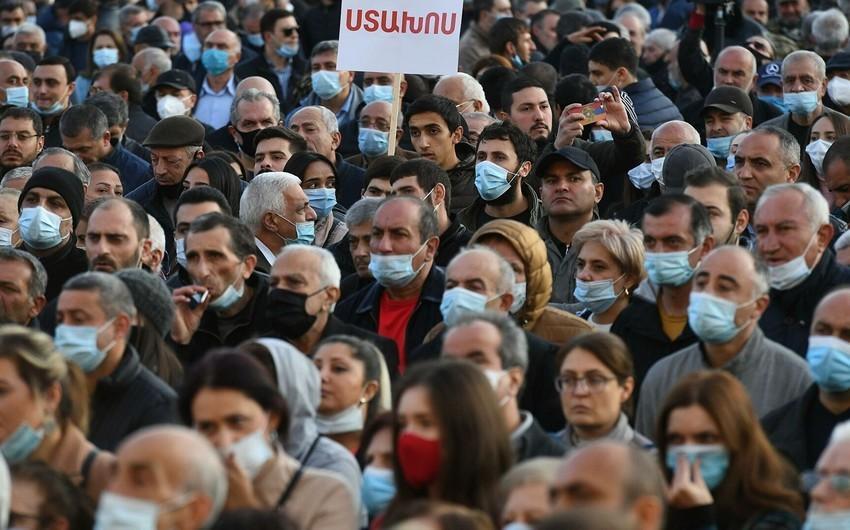 В Ереване автомобилисты протестуют против Пашиняна