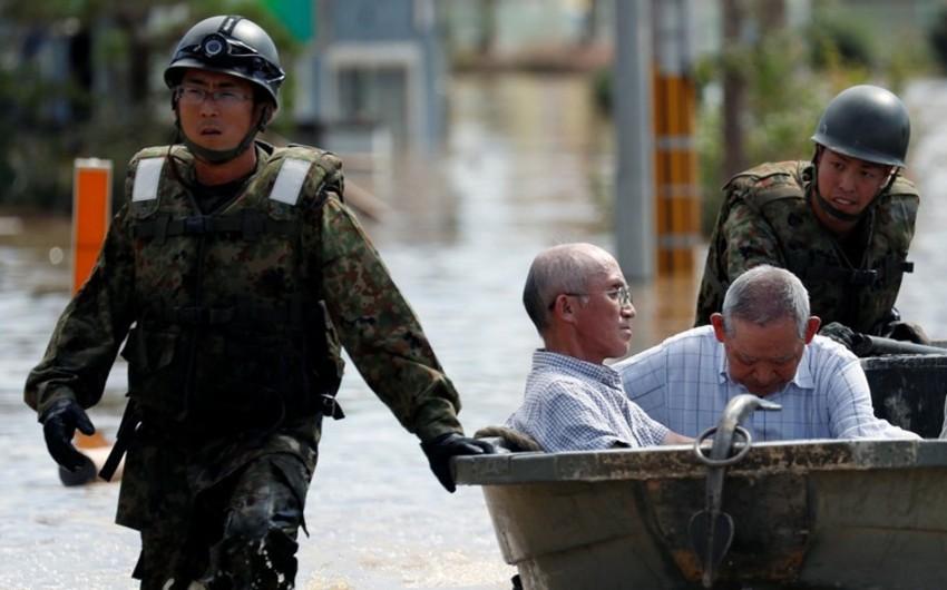 Yaponiyada leysan yağışlarından ölənlərin sayı 88 nəfərə çatıb - YENİLƏNİB - 3