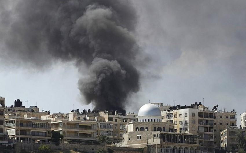 Suriyada hospital yaxınlığında partlayış: ölənlər var