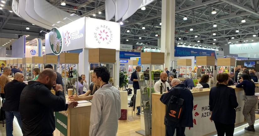 Азербайджанские компании представлены на выставке продуктов питания в Москве