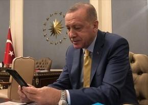 "Türkiyə Prezidenti ""Telegram""da"