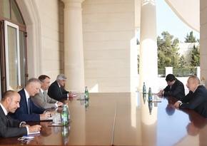 Ильхам Алиев принял спецпредставителя Европейского Союза по Южному Кавказу