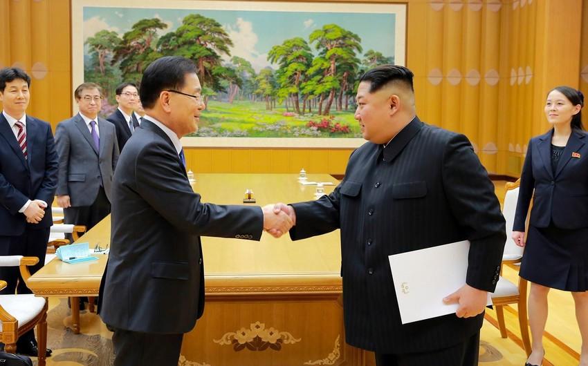 Şimali və Cənubi Koreya liderləri arasında danışıqların ilk günü başa çatıb  - YENİLƏNİB