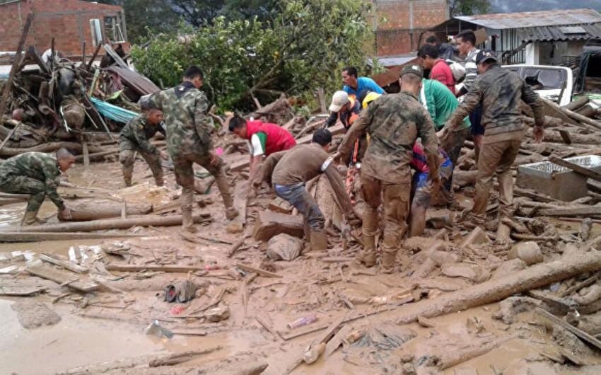 Kolumbiyada çay daşqınları nəticəsində 154 nəfər ölüb