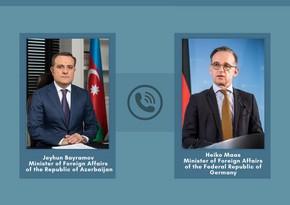 Azərbaycan və Almaniya XİN başçıları arasında telefon danışığı olub