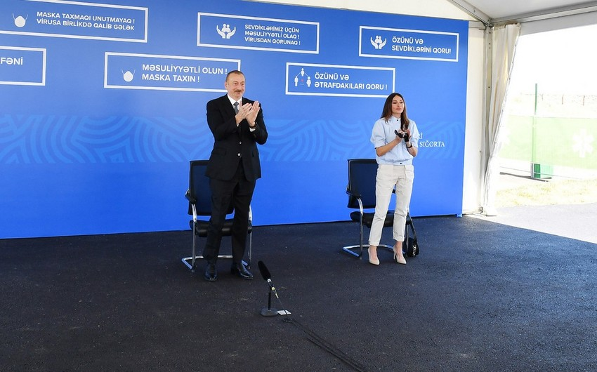Azərbaycan Prezidenti vətəndaşlara təşəkkür etdi