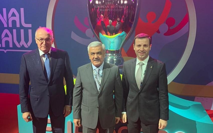 AFFA prezidenti AVRO-2020-nin final mərhələsinin püşkatma mərasimində iştirak edəcək