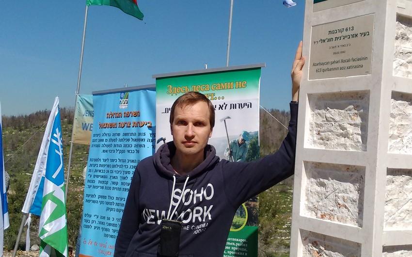 Vadim Levaşvili: Azərbaycanın maraqları ilə yaşayırıq